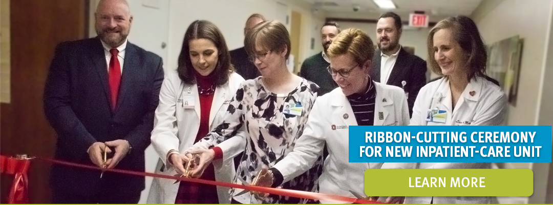 Ribbon-Cutting Ceremony For New Inpatient-Care Unit | Learn More